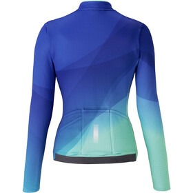 Shimano Kaede Thermal Jersey Women blue